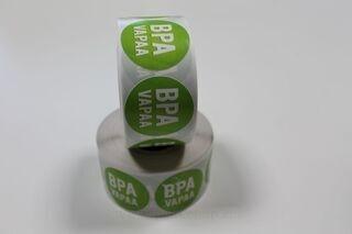 BPA vapaa tarrat