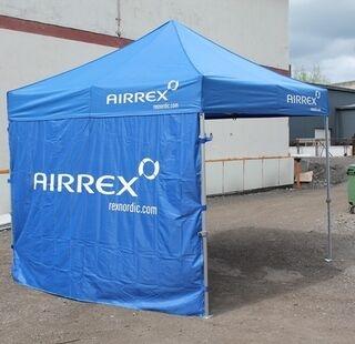 Mainosteltta Airrex