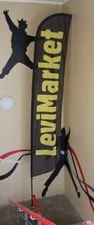 LeviMarket TM mainoslippu