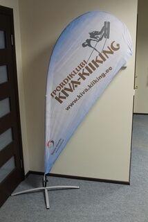 Beach flag Kiva-Kiiking