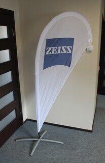 RS Zeiss mainoslippu