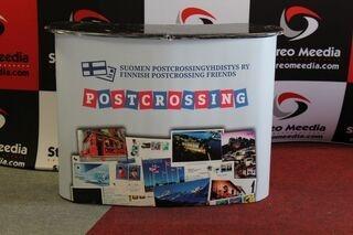Suur esitluslaud Postcrossing