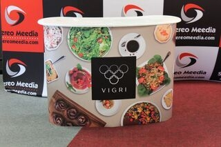 Cafe Vigri new advertisement counter