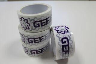 GEF logoga pakketeip