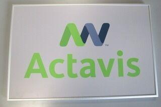 Yrityskyltti Actavis