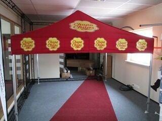 3x3 logotettu teltta