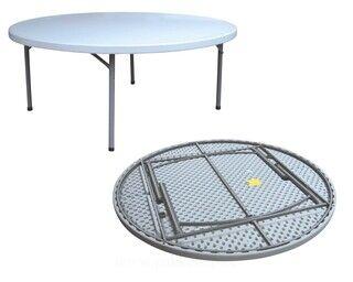 Ümar laud kokkupandav dia: 180 cm